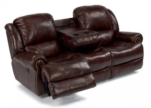 Capitol Leather Power Reclining Sofa-LAST ONE
