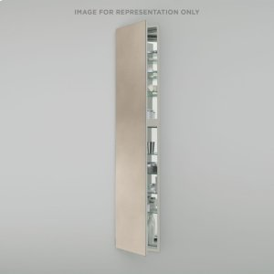 """M Series 19-1/4"""" X 70"""" X 8"""" Full Length Cabinet In Satin Bronze With Left Hinge and Non-electric Product Image"""