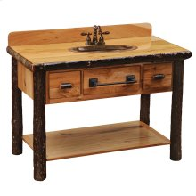 Two Drawer Vanity Base - Espresso
