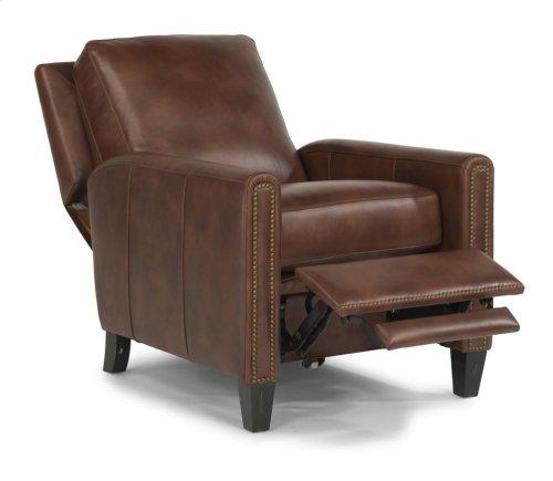 Reuben Leather or Fabric Power High-Leg Recliner