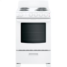 """Hotpoint® 24"""" Free-Standing Front-Control Electric Range"""