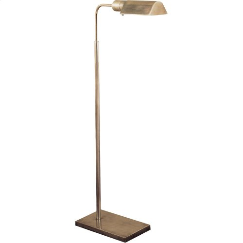 Visual Comfort 91025AN Studio Classic 34 inch 60 watt Antique Nickel Task Floor Lamp Portable Light