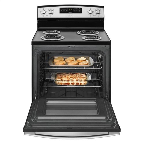 30-inch Amana® Electric Range with Bake Assist Temps