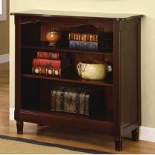 """""""Brown Cherry"""" Bookcase - overpacked"""