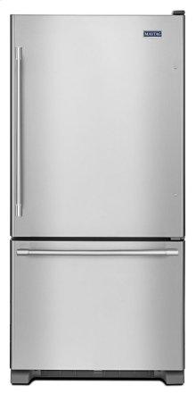 33-Inch Wide Bottom Mount Refrigerator - 22 Cu. Ft.