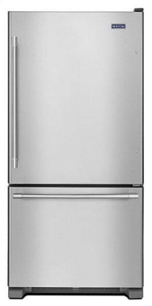 RED HOT BUY! 33-Inch Wide Bottom Mount Refrigerator - 22 Cu. Ft.