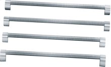 Freestanding Refrigeration Pro-style handle kit accessory, 4 handles