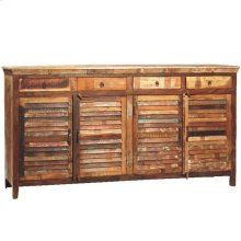 4dr/4drw Louvered Sideboard