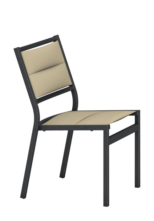 Cabana Club Padded Sling Side Chair