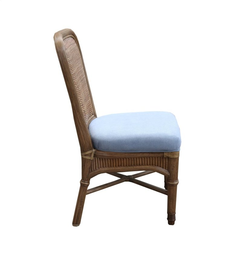 Side Chair Available In Antique Palm Finish Only