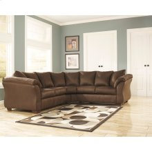Signature Design by Ashley Darcy Sectional in Cafe Microfiber [FSD-1109SEC-CAF-GG]