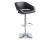 Gustavo Adjustable Barstool - Onyx