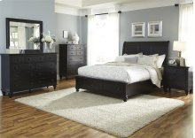 Queen Storage Bed, Dresser & Mirror, Chest, N/S