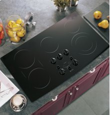 "GE Profile 36"" Built-In CleanDesign Cooktop"