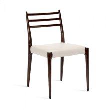 Beckham Side Chair - Walnut/ Cream