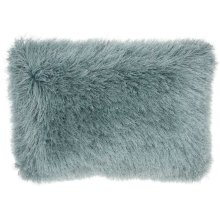 "Shag Tl004 Celadon 14"" X 20"" Throw Pillows"