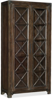 Roslyn County Bunching Display Cabinet