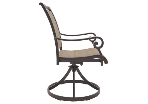 Sling Swivel Chair (2/CN)