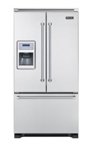 "36"" French-Door Bottom-Freezer Refrigerator with Dispenser"