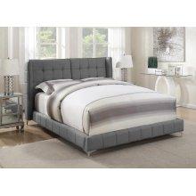 Goleta Grey Upholstered Full Bed
