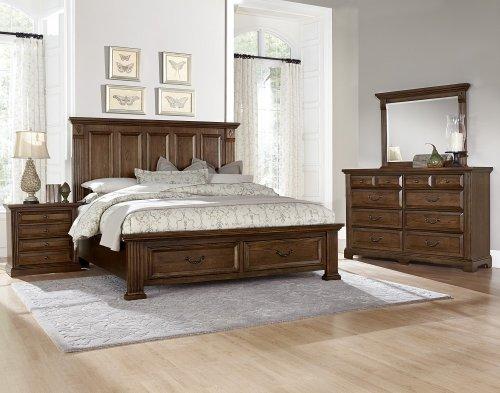 Mansion Storage Bed Queen