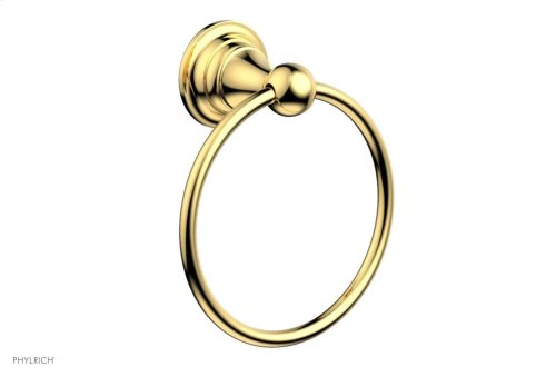 COURONNE MAISON Towel Ring 163-75 - Polished Gold