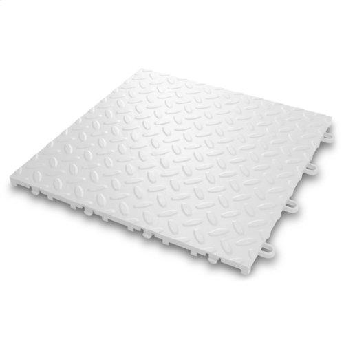 """Gladiator® 12"""" x 12"""" Tile Flooring (24-Pack) - White"""