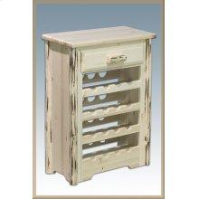 Montana Log Wine Cabinet