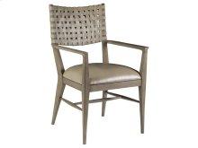 Milo Leather Arm Chair - Grigi -