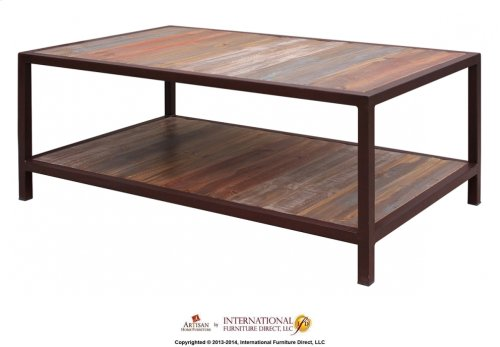 Cocktail Table w/1 Shelf