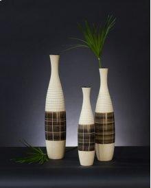 Light Brown Textured Ceramic Bottles