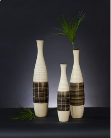 Light Brown Textured Ceramic Bottles
