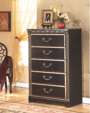 B17546 five drawer chest by ashley furniture behar 39 s for Bedroom furniture 98203
