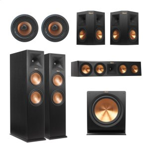KlipschRP-280 5.1.4 In-Ceiling Dolby Atmos(R) System - Black