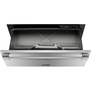 "DacorHeritage 27"" Pro Warming Drawer, Silver Stainless Steel"