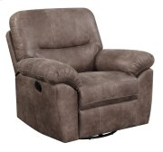 Swivel Glider Recliner Almond Brown Product Image