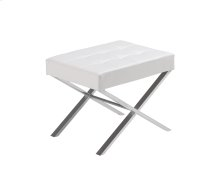Mercer Bench - White