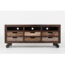 Painted Canyon TV Stand / Media Cart