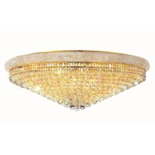 1800 Primo Collection Flush Mount Gold Finish