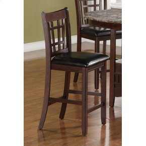 Lavon Transitional Espresso Counter-height Chair