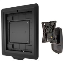 Kontour Pitch/Pivot Flush Mount with Secure iPad Interface Bracket