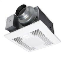 WhisperGreen Select FV-05-11VKSL1 50-80-110 CFM, Ceiling Mount Fan/Light, Pre-Installed Multi-Speed with Time Delay