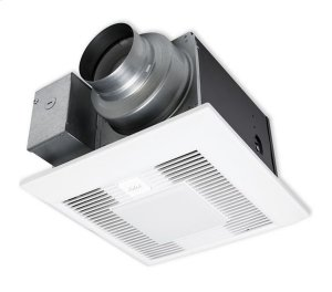 WhisperGreen Select FV-05-11VKSL1 50-80-110 CFM, Ceiling Mount Fan/Light, Pre-Installed Multi-Speed with Time Delay Product Image