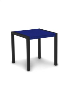 "Textured Black & Pacific Blue MOD 30"" Dining Table"