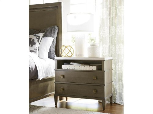 Two Drawer Nightstand - Brown Eyed Girl