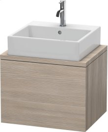 Delos Vanity Unit For Console Compact, Pine Silver (decor)