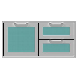 "Hestan42"" Hestan Outdoor Combo Door/Drawer - AGSDR Series - Bora-bora"