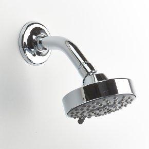 Shower Head Taos (series 17) Polished Chrome
