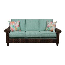 Sofa, Available in Abaca or Seagrass Finish.