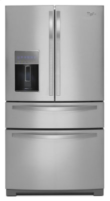 36-inch Wide 4-Door Refrigerator with More Flexible Storage